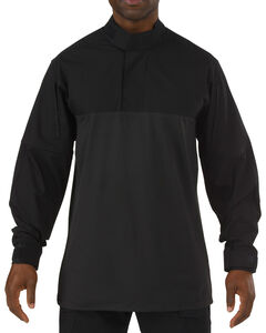 5.11 Tactical Stryke TDU Rapid Long Sleeve Shirt - Tall Sizes (2XT - 5XT), Black, hi-res