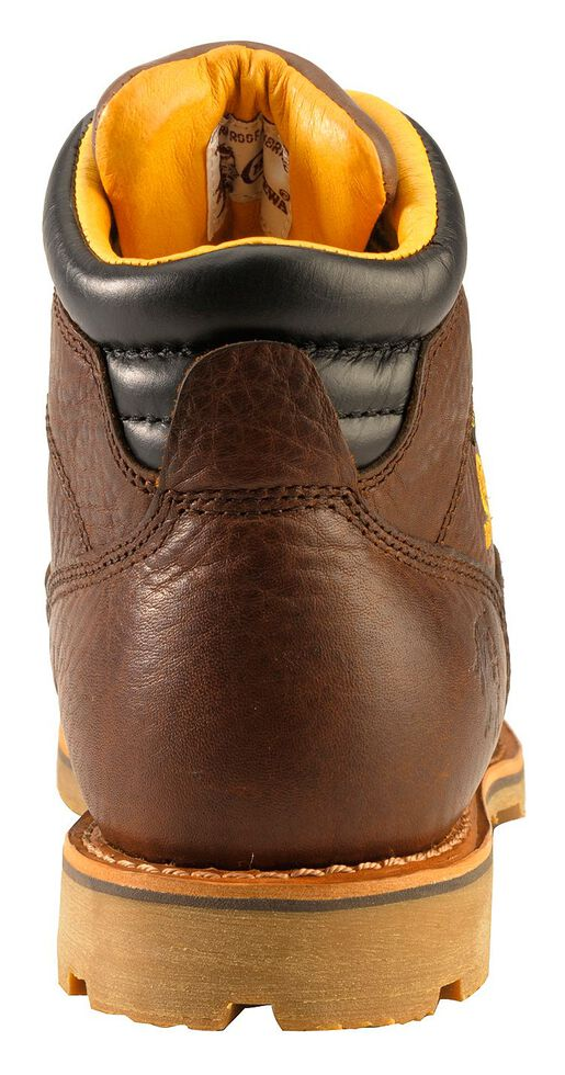 """Chippewa Waterproof & Insulated 6"""" Lace-Up Work Boots - Round Toe, Brown, hi-res"""