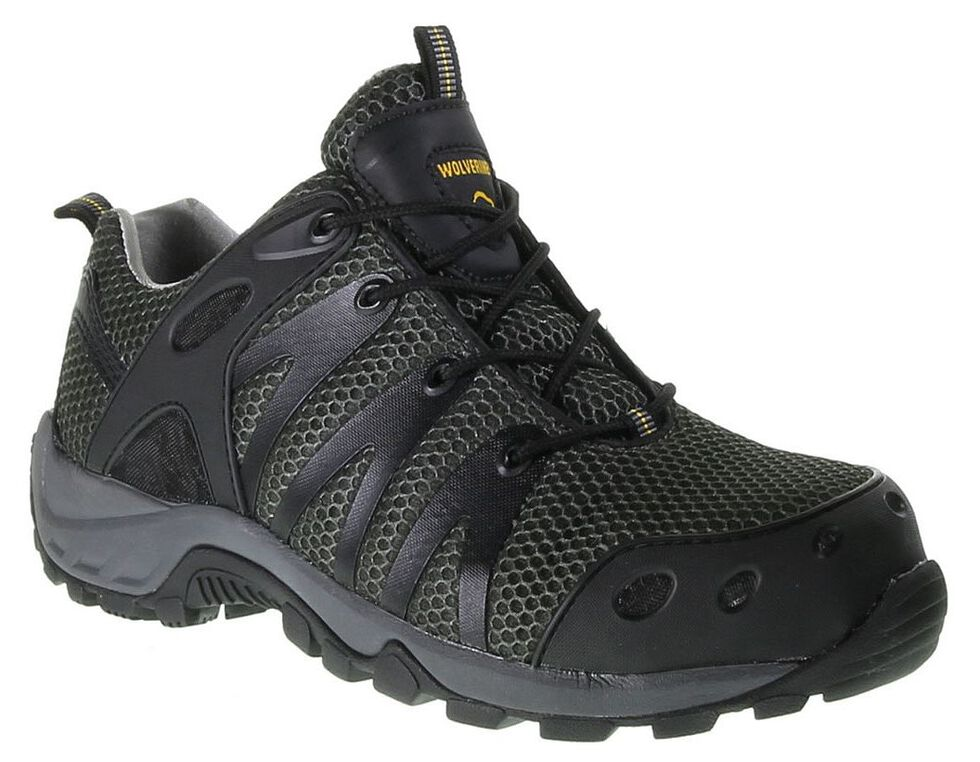 Wolverine Amherst Trail Hiking Boots - Composite Toe, Black, hi-res
