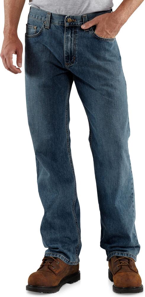 Carhartt Loose Fit Straight Leg Work Jeans, Worn Blue, hi-res