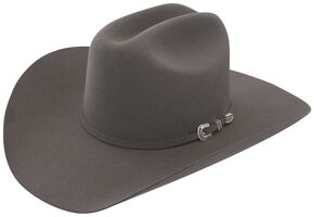 Stetson 6X Skyline Granite Fur Felt Cowboy Hat, Granite, hi-res