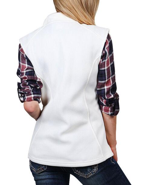 Polar King Women's Fleece Lined Vest , Natural, hi-res