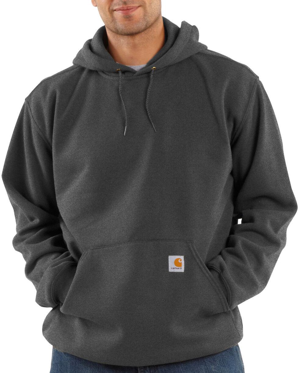 Carhartt Hooded Work Sweatshirt, Charcoal Grey, hi-res