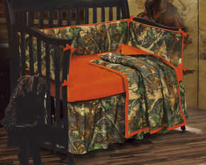 HiEnd Accents Realtree Camo Crib Set, Multi, hi-res