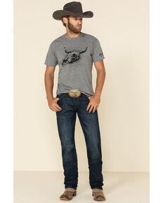 Wrangler Retro Men's Maverick Dark Stretch Slim Straight Jeans - Long, Blue, hi-res