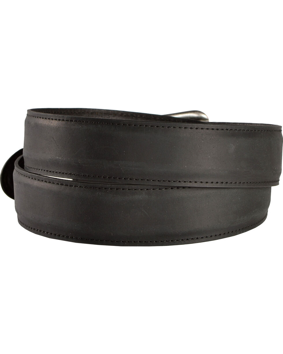 American Worker Classic Bar Tacked Tab Belt, Black, hi-res
