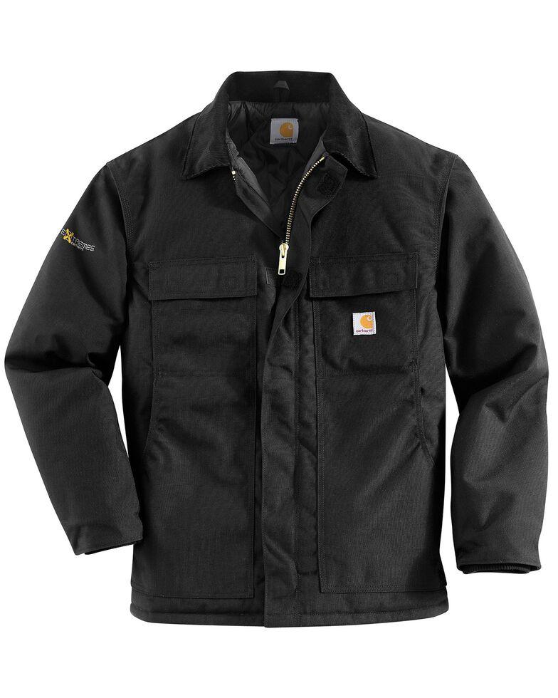 Carhartt Extremes® Men's Arctic Quilt-Lined Work Coat - Big & Tall, Black, hi-res