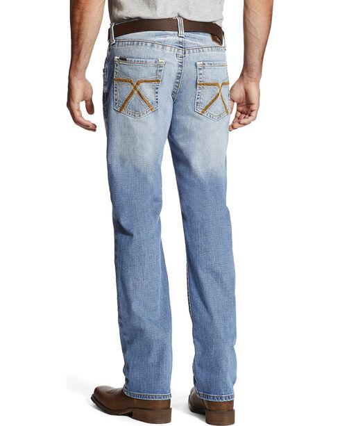 Ariat Men's Indigo M5 Addison Slim Fit Jeans - Straight Leg , Indigo, hi-res