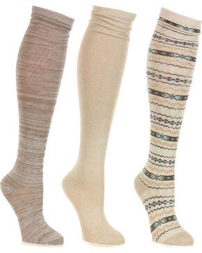 Shyanne Women's Knee High Sock Set , No Color, hi-res