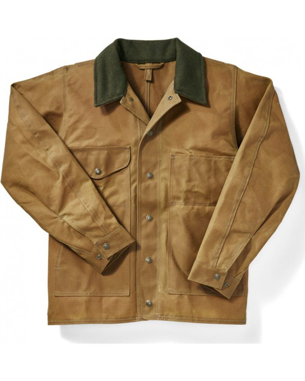 Filson Men's Tin Cloth Jacket, Tan, hi-res