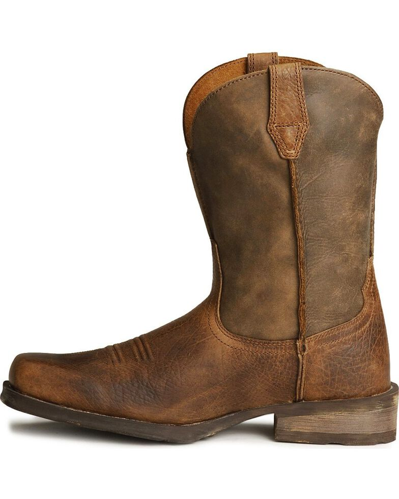 Ariat Rambler Cowboy Boots - Square Toe, Earth, hi-res