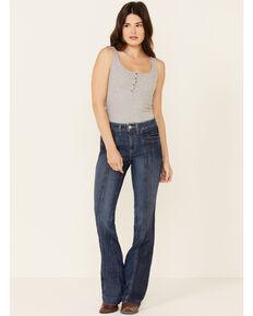 Ariat Women's Ida Slim Wide Leg Trouser Jeans , Blue, hi-res