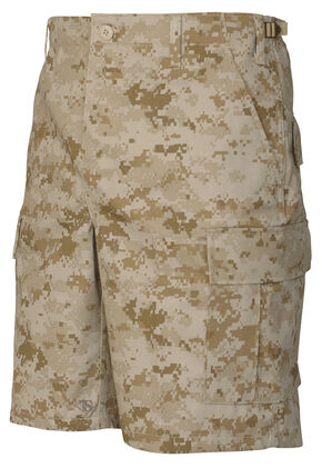 Tru-Spec Men's Desert Digital Camo BDU Shorts , Camouflage, hi-res