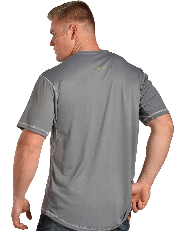 ARIAT Mens Rebar Freeze Point Polo Shirt