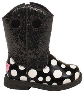 Blazin Roxx Toddler Girls' Lil' Pearl Boots, Black, hi-res