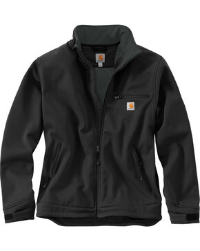 Carhartt Men's Black Crowley Nylon Jacket , Black, hi-res