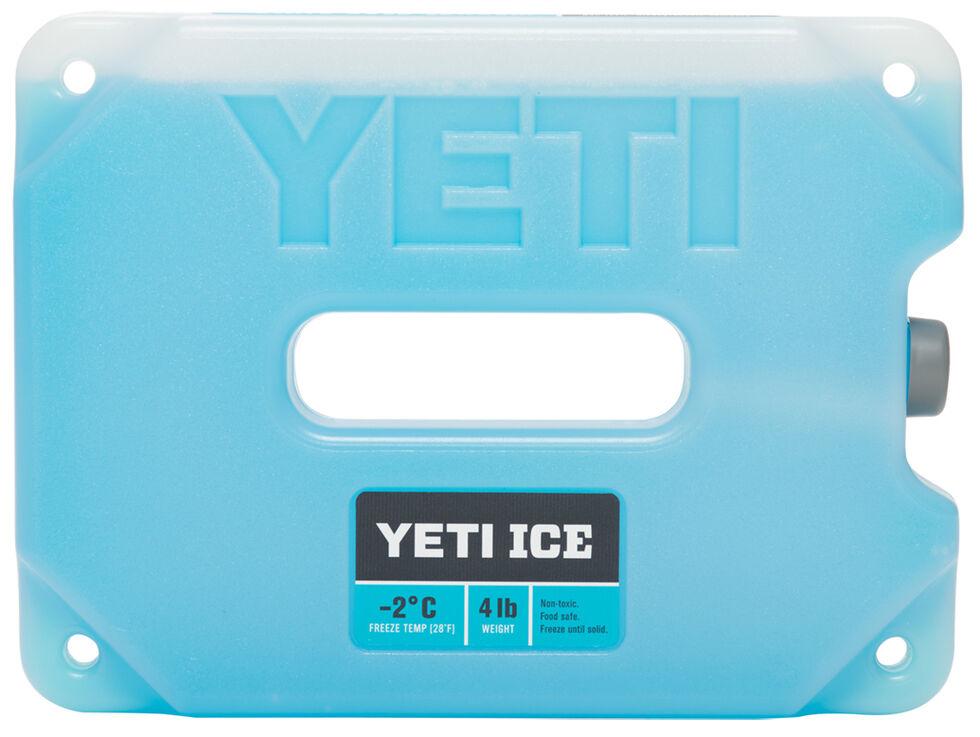 YETI Ice Four-Pound Ice Pack , Blue, hi-res