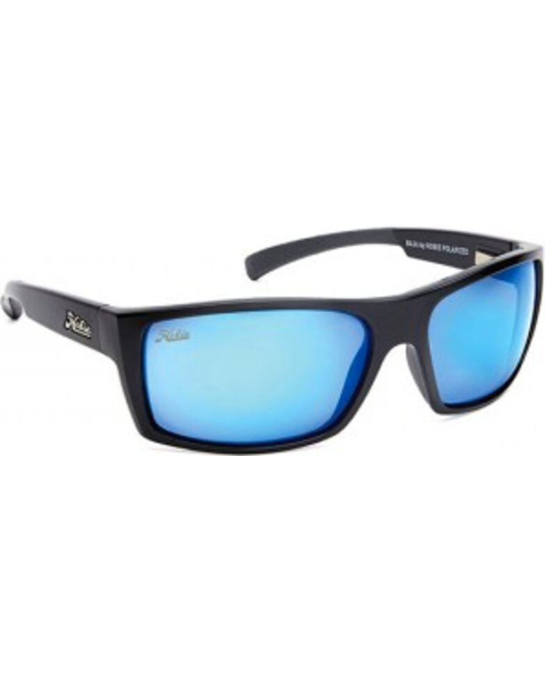 0a7cb09bf7 Hobie Men s Satin Black Baja Polarized Sunglasses