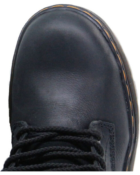 Dr. Martens Men's Winch Ex Wide Work Boots - Steel Toe, Dark Brown, hi-res