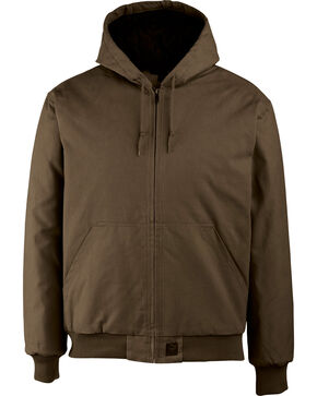 Wolverine Men's Dark Brown Jaxon Duck Jacket, Dark Brown, hi-res