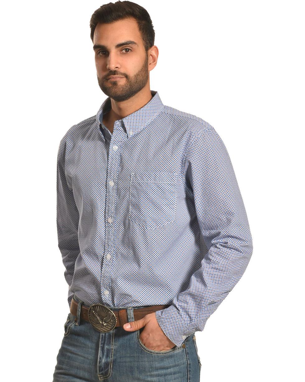 Cody James Men's Cool Hand Luke Long Sleeve Shirt - Tall, Royal Blue, hi-res