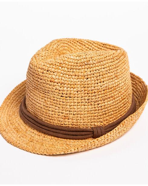 ále by Alessandra Women's Brown Marin Hat , Brown, hi-res