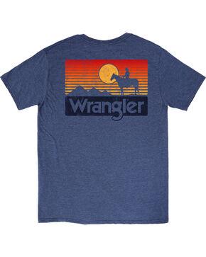 Wrangler Boys' Blue (6-16) Sunset Short Sleeve Tee , Blue, hi-res