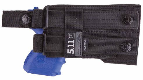 5.11 Tactical LBE Compact Holster (Left Hand), Black, hi-res