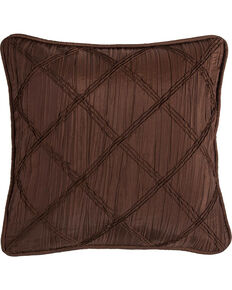 HiEnd Accents Batiste Pillow With Ruching Details, Multi, hi-res
