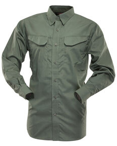 Tru-Spec Men's 24-7 Ultralite Long Sleeve Field Shirt, Olive, hi-res