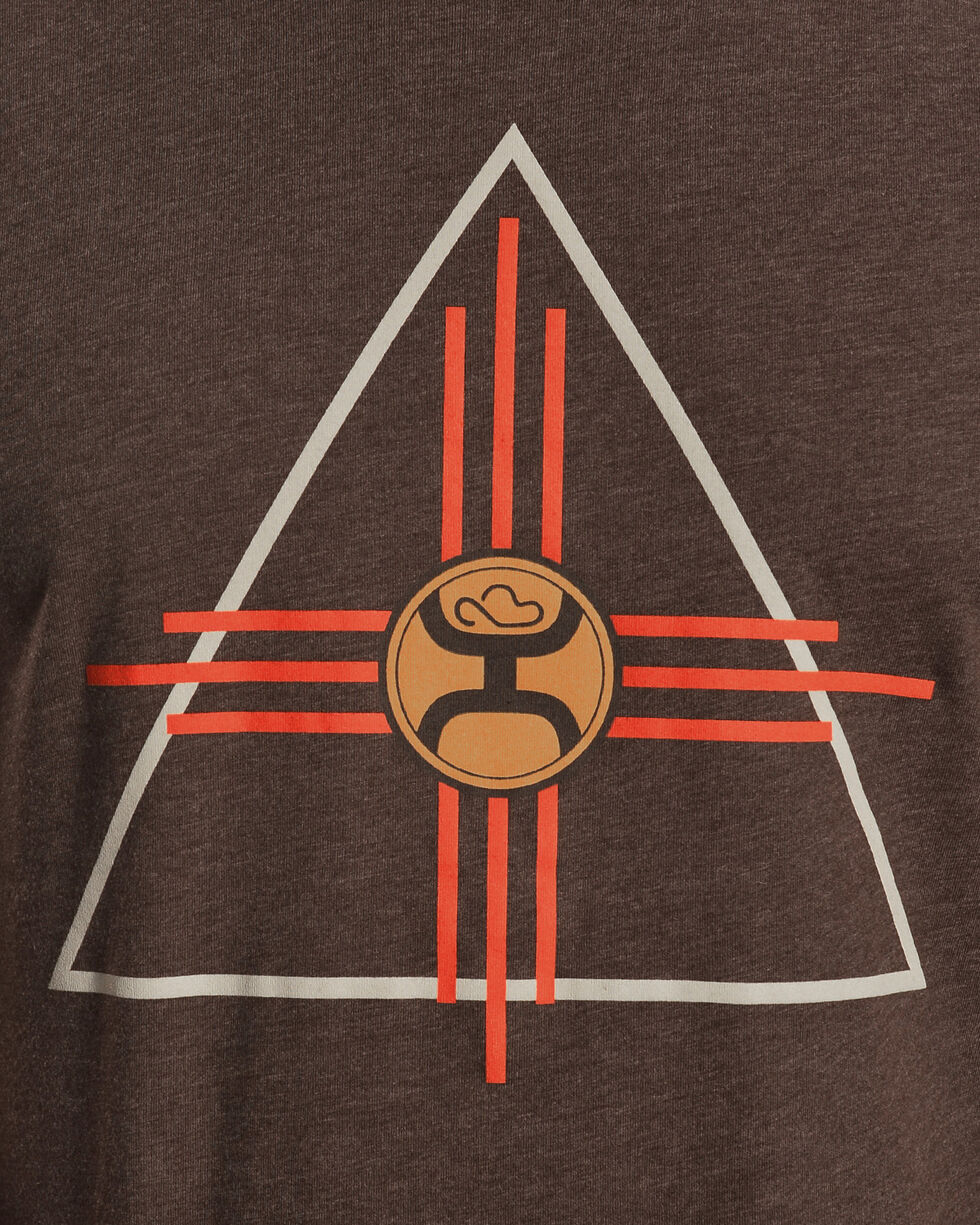 Hooey Men's Brown Thunderbird Tee, Brown, hi-res