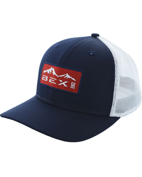 BEX Men's Trench Moisture Wicking Stretch Fabric Cap, Royal Blue, hi-res