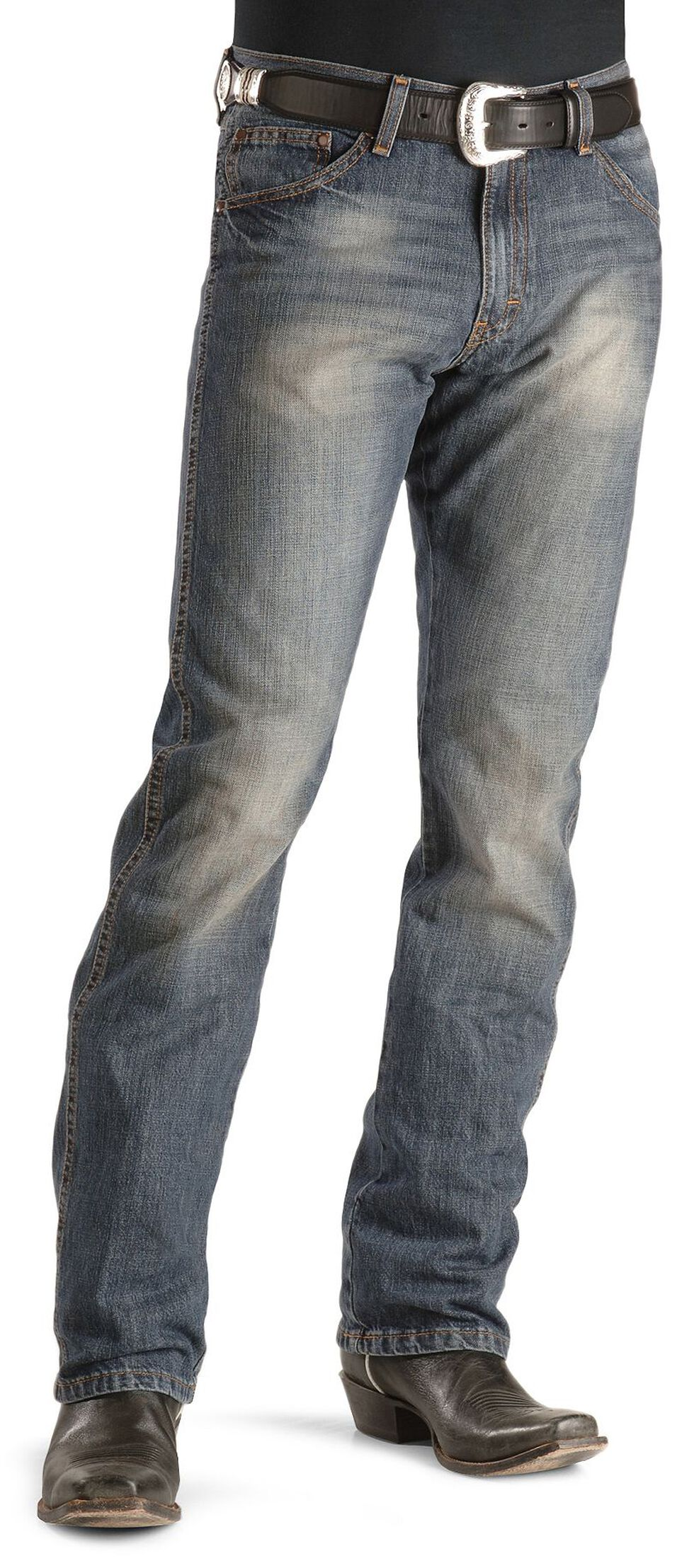 Wrangler Jeans - Dark Knight Denim Retro Slim Fit, Dark Rinse, hi-res