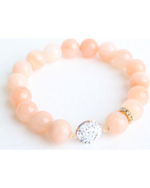 Everlasting Joy Women's Pink Aventurine Sparkle Bracelet, Pink, hi-res