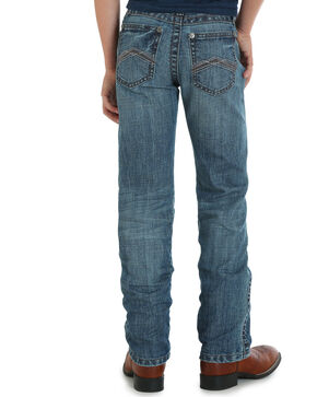 Wrangler Boys' (8-16) Blue 20X No. 44 Slim Fit Jeans - Straight Leg, Blue, hi-res