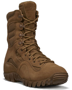 Belleville Men's TR Khyber Hot Weather Military Boots, Coyote, hi-res