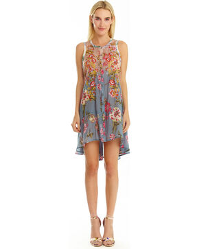 Aratta Women's Aurora Tunic, Blue, hi-res