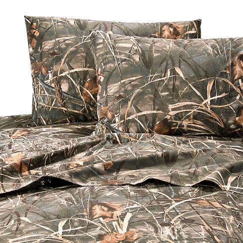 Realtree Max-4 California King Sheet Set, Camouflage, hi-res