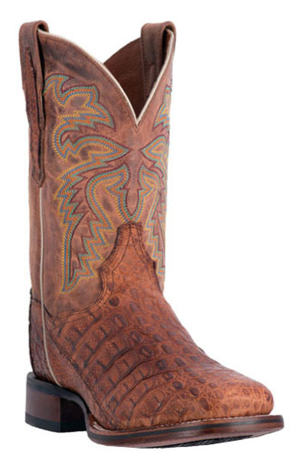 Dan Post Men's Denver Caiman Cowboy Boots - Square Toe, , hi-res