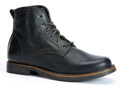 Frye Roland Lace Up Boots, Black, hi-res