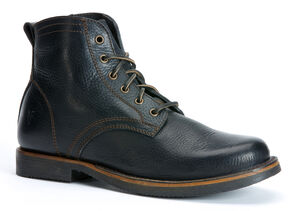 Frye Roland Lace-Up Boots, Black, hi-res