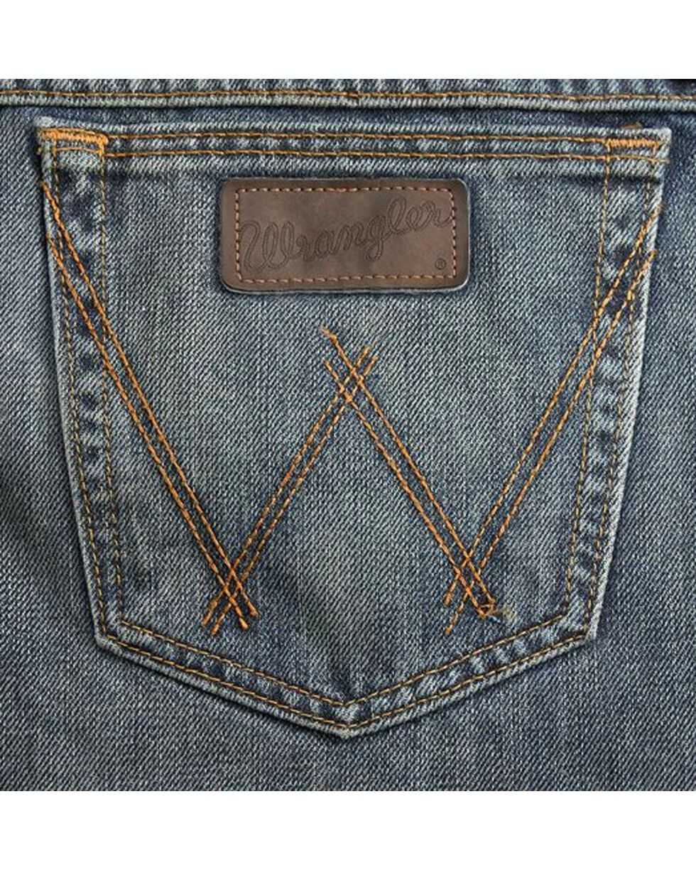 Wrangler 20X 01MWX Competition Relaxed Fit Jeans - Tall , Vintage Blue, hi-res