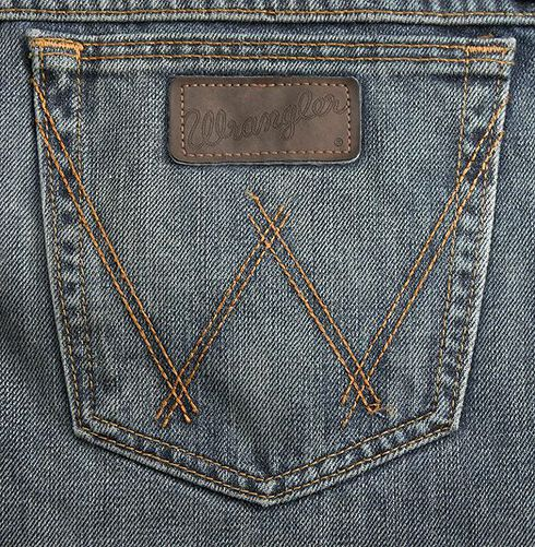 Wrangler 20X Competition River Wash Jeans - Relaxed Fit, Vintage Blue, hi-res