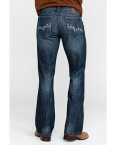 Wrangler 20X Men's No. 42 Kingston Vintage Slim Bootcut Jeans , Indigo, hi-res
