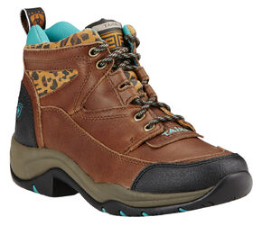 Ariat Women's Tundra Cheetah Terrain Boots , Brown, hi-res