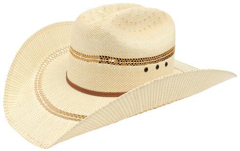 Ariat Double S Bangora Straw Hat, Tan, hi-res