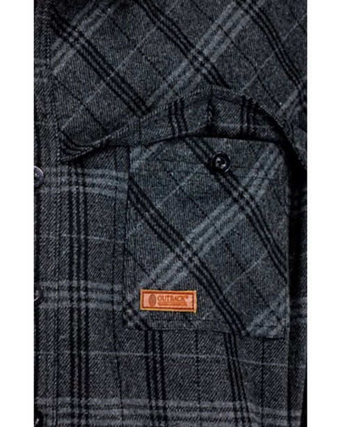 Outback Trading Co. Men's Harrison Jacket , Black, hi-res