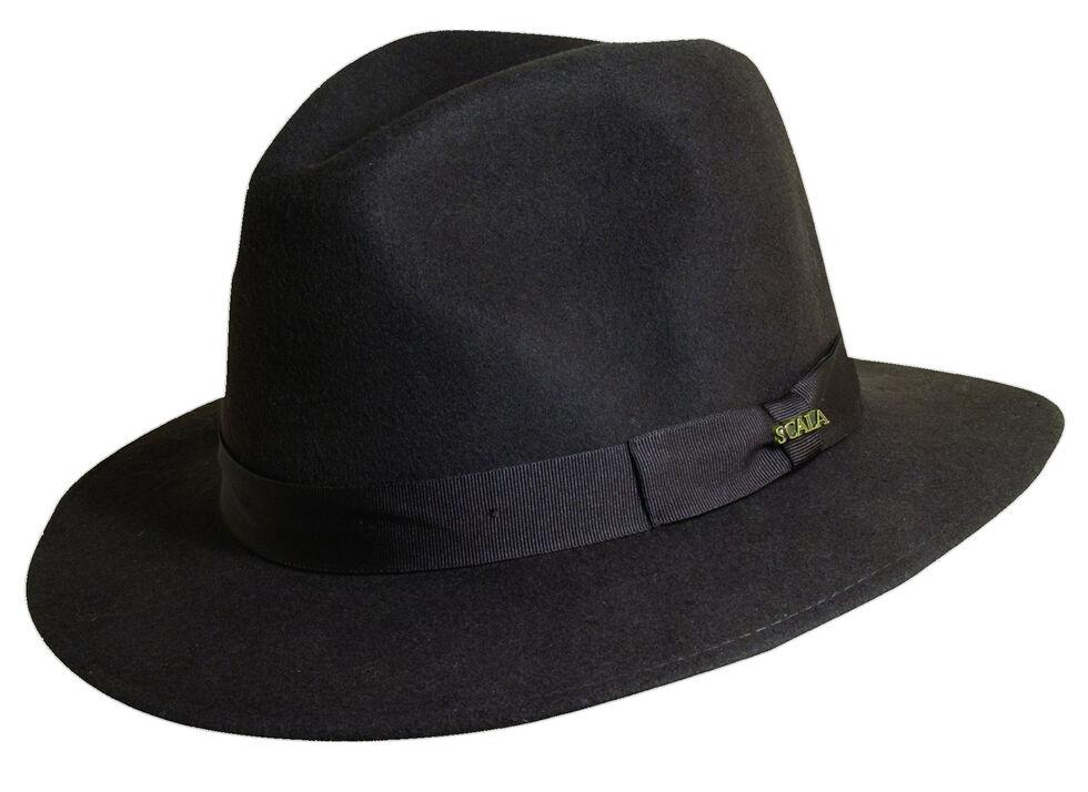 0c1d2d46923 Scala Men s Chocolate Wool Felt Safari Hat
