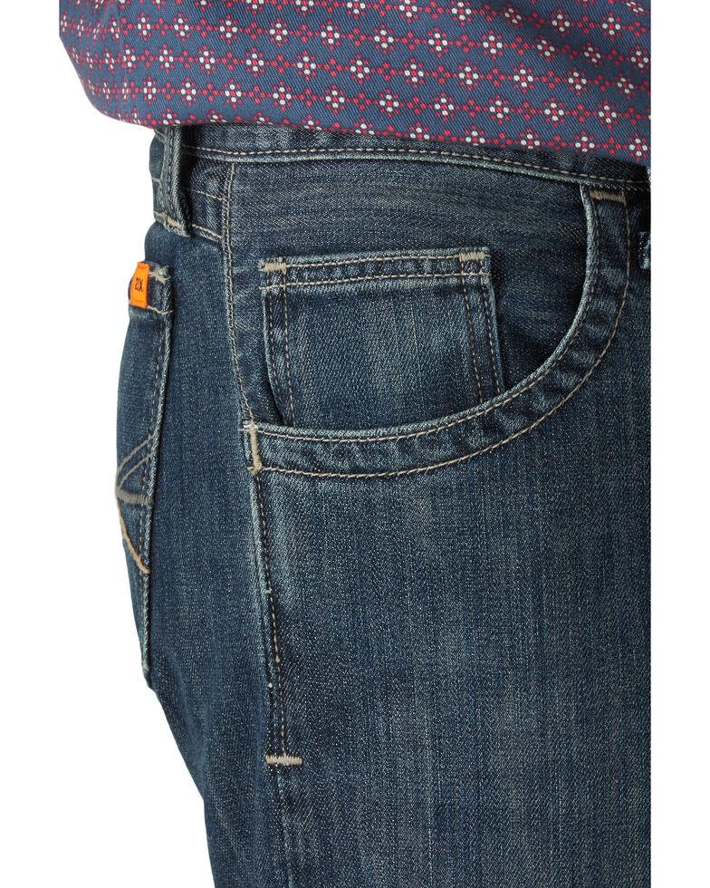 Wrangler 20X Men's FR Odessa Slim Bootcut Work Jeans , Blue, hi-res