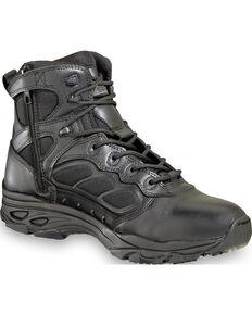"Thorogood Men's 6"" ASR Ultra Light Side Zip Tactical Boots , Black, hi-res"